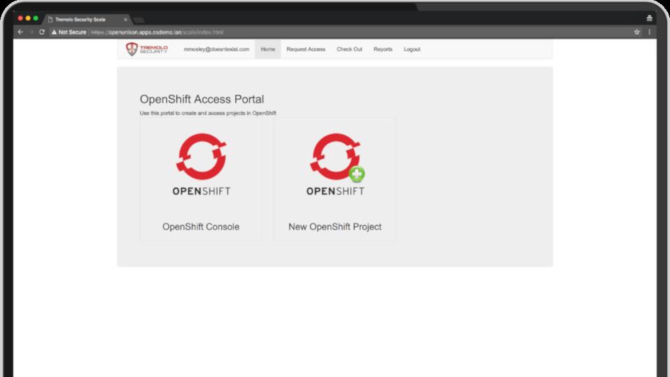 OpenUnison Portal