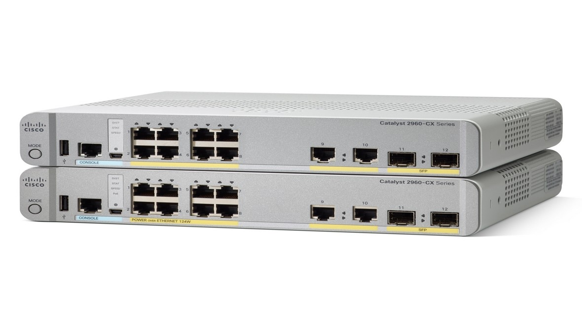 Cisco Catalyst Switching 2960-CX Series