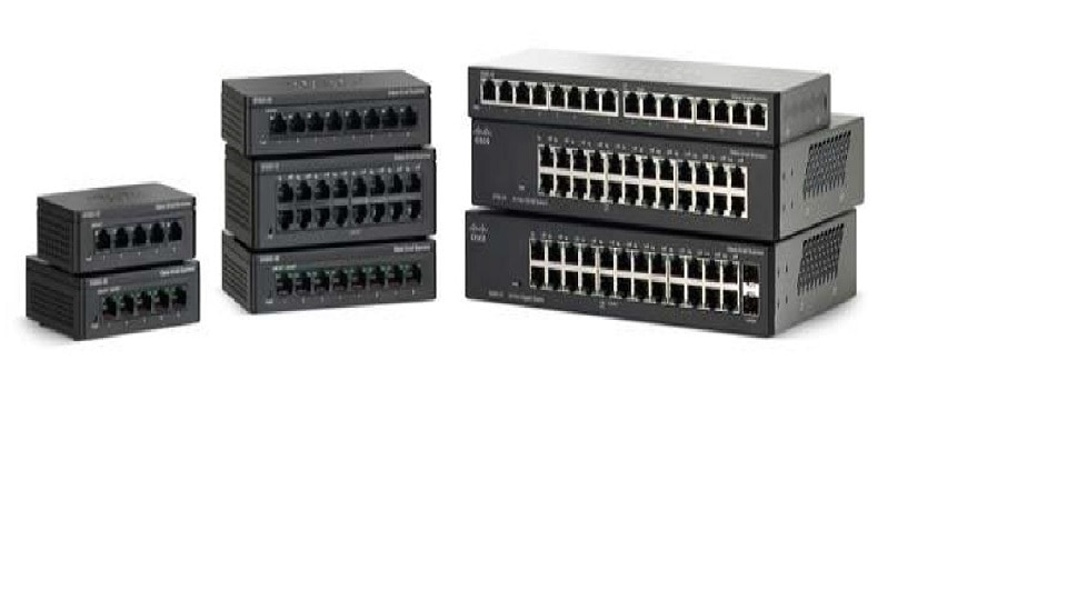 Cisco Small Business Switches - 95 Series Unmanaged Switches