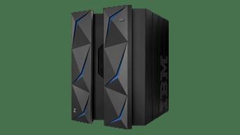 IBM z14 de marco dual, vista lateral