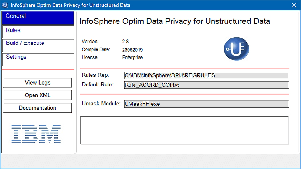 InfoSphere Optim Data Privacy for Unstructured Data