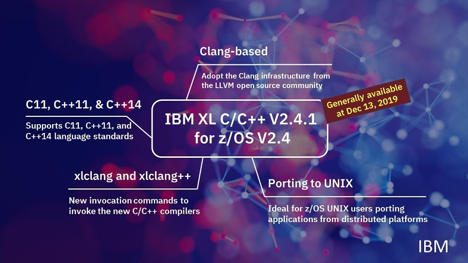 IBM z/OS XL C/C++