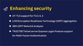 Enhancing security (V2R4)