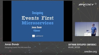 Jonas Bonér - Designing Events First Microservices