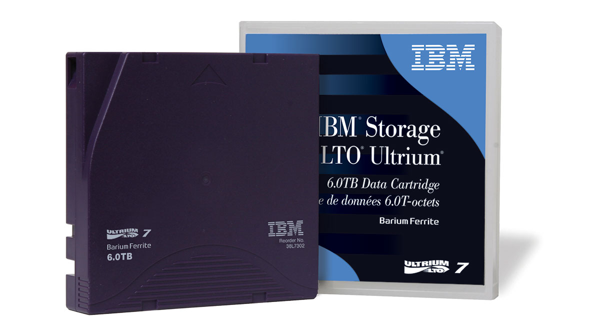 IBM LTO Ultrium 7 Data Cartridge