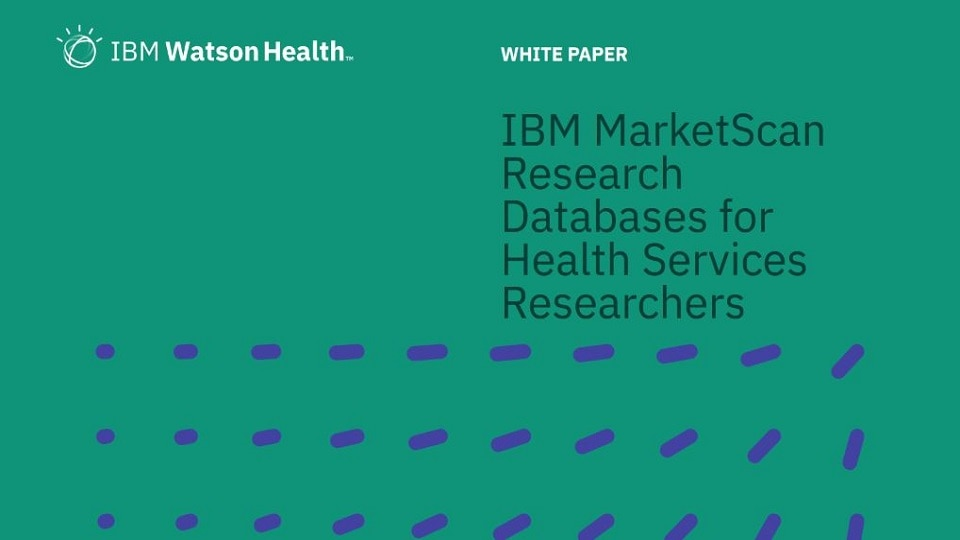IBM MarketScan Research Databases