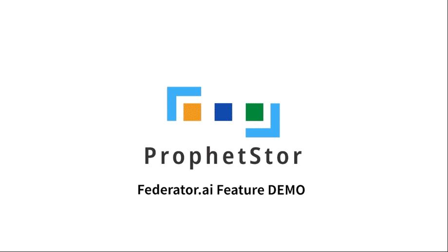 ProphetStor Federator.ai Feature Demo