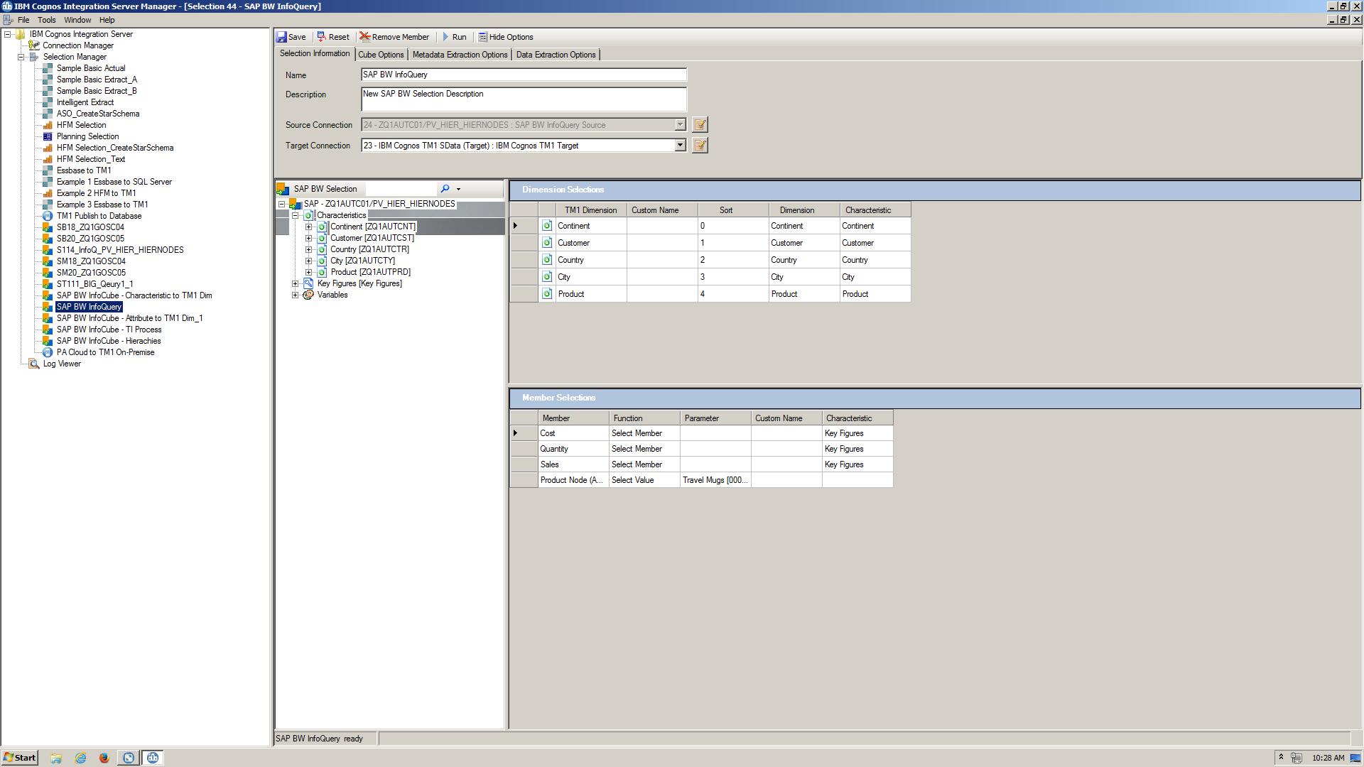 IBM Cognos Integration Server