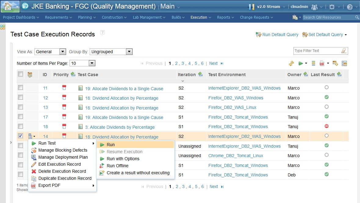 IBM Engineering Test Management