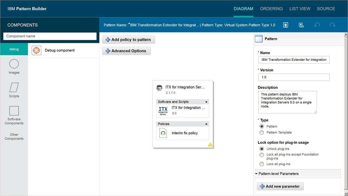 IBM Transformation Extender for Integration Servers Pattern