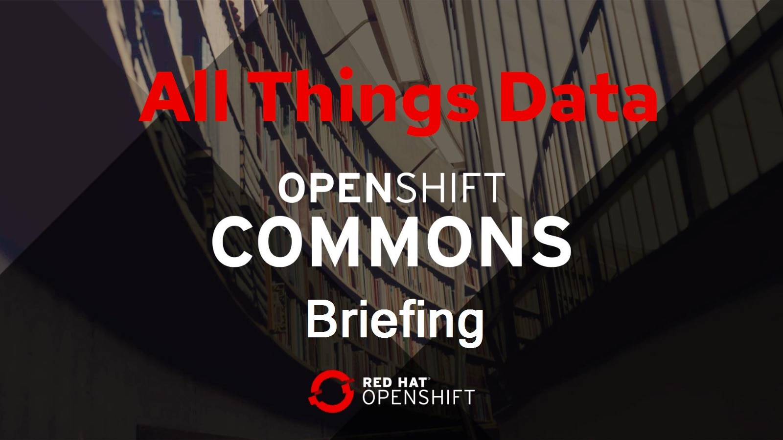 All Things Data: JupyterHub on-demand & other tools w/ Red Hat's Guillaume Moutier & Landon LaSmith