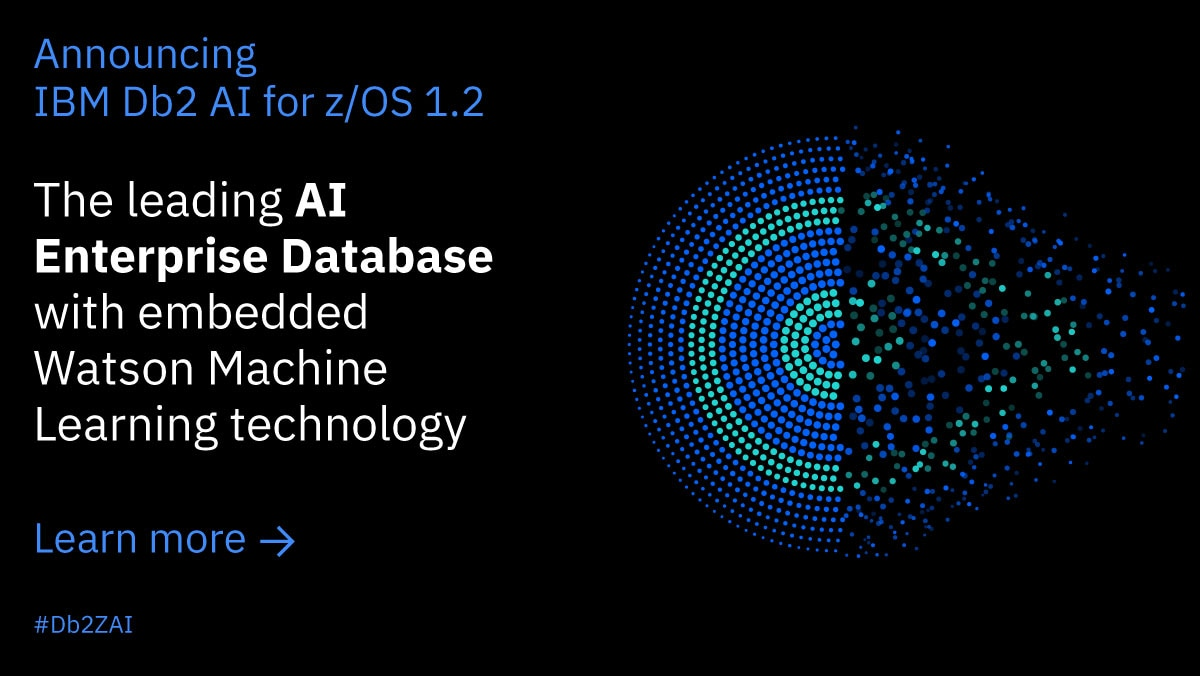 IBM Db2 AI for z/OS