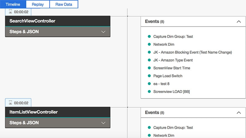 View your customers' session and pinpoint trouble spots for analysis