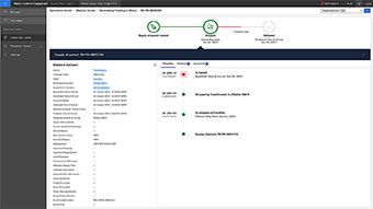 Real-time order and shipment status