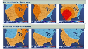 Get 3-5 week and 1-7 month forecasts for more informed decisions