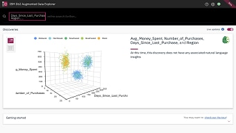Examine complex patterns and characteristics from multivariate cluster
