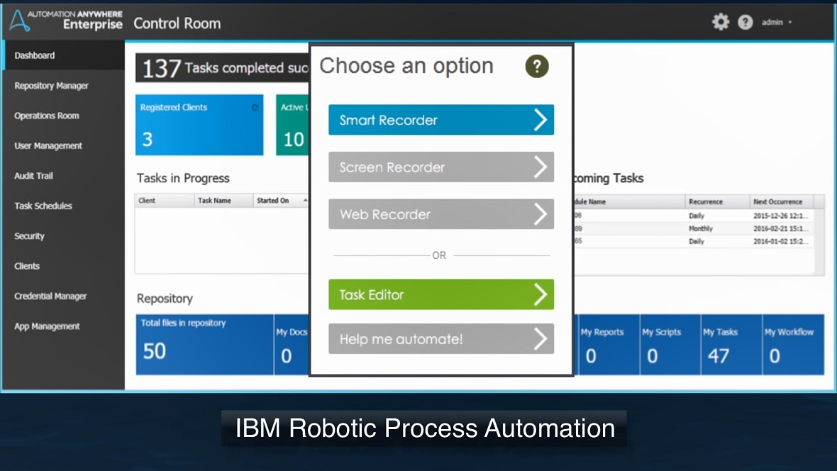 IBM Robotic Process Automation with Automation Anywhere