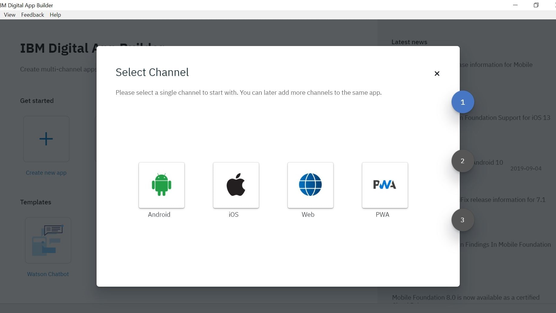 Build multi-channel apps with ease