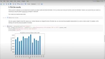 Analyze Data in Jupyter Notebook