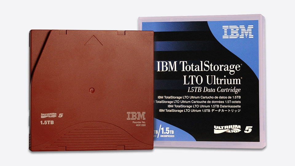 IBM LTO Ultrium 5 Data Cartridge