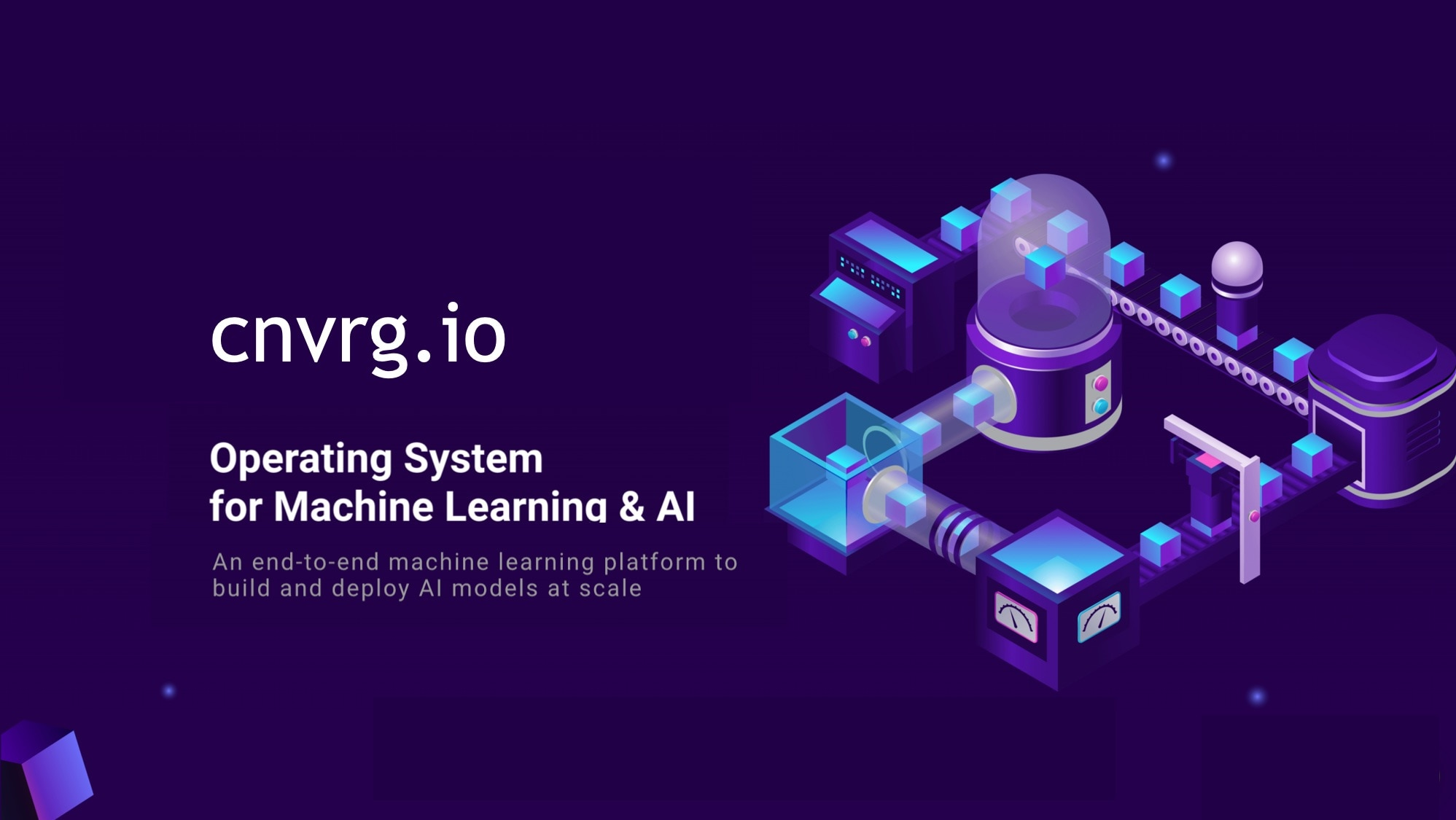 cnvrg.io data science platform from research to production