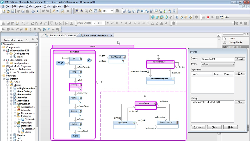 IBM Engineering Systems Design Rhapsody - Developer - Overview
