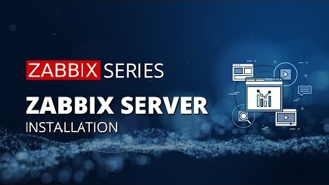 Zabbix server installation explained