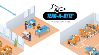 Tear-A-Byte® Process