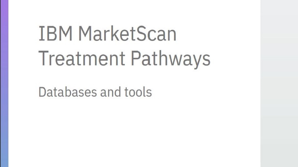 MarketScan Treatment Pathways