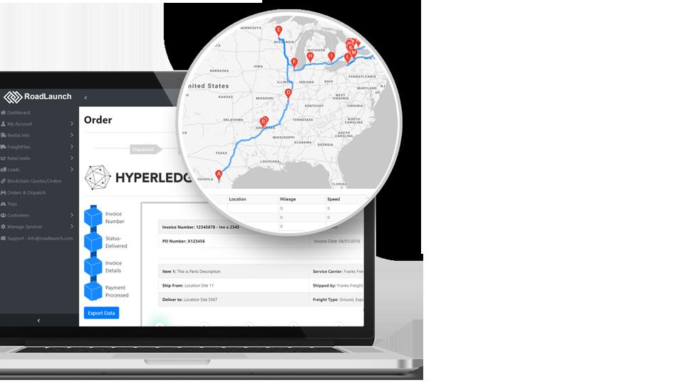 RoadLaunch - Intelligent Blockchain Logistics Platform