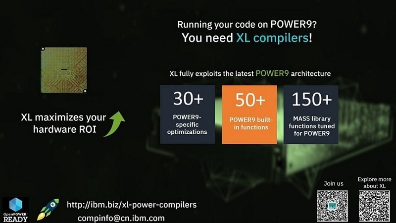 Full exploitation of the latest POWER9 architecture
