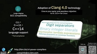 Adoption of Clang 4.0 Technology