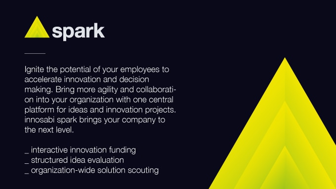 innosabi spark – ignite the innovative potential of your employees